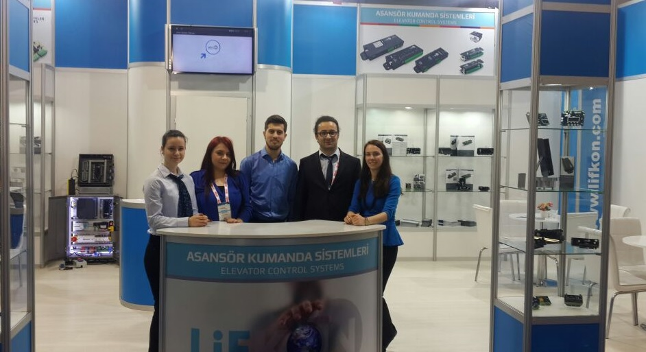 We have been 14th Istanbul International Elevator Exhibition