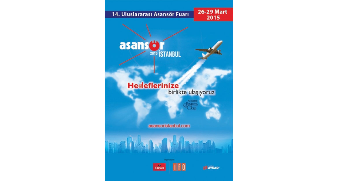 We are attanding 14th Istanbul International Elevator Exhibition